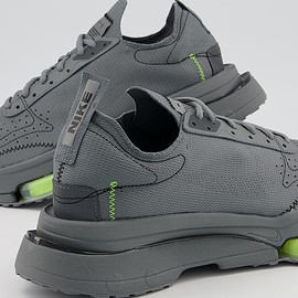 Nike - Nike Air Zoom,N354,Type Trainers,Smoke Grey,Dark Grey,Volt Black