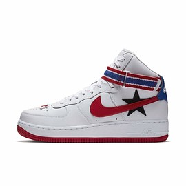 Riccardo Tisci, NIKE - RICCARDO TISCI x NIKE AIR FORCE 1 HIGH White/Red/Blue