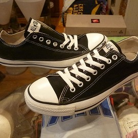 "converse - 「<used>90's converse ALLSTAR OX black""made in USA"" size:US8/h(27cm) 7500yen」販売中"