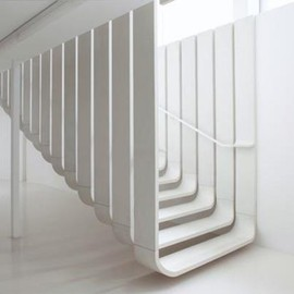 Zaha Hadid - Floating Staircase