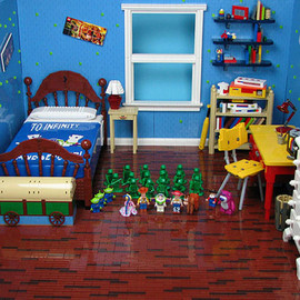 LEGO - andy's room