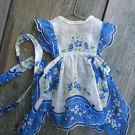 handmade vintage doll clothes