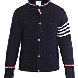 Thom Browne - Roll Shawl Cardigan