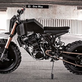 Droog Moto - Droog DM15 - Kawasaki Ninja 250 based expensive custom tracker