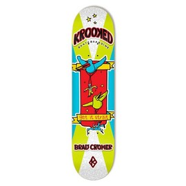 "KROOKED - BIRD BATTALION ""Brad Cromer"" (8.06×31.8)"