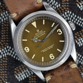 "ROLEX - Rolex Explorer 1 1016 ""Tropical Gilt Dial"" Main Image"