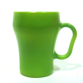 ANCHOR HOCKING - Fireking - Soda Mug (Green)