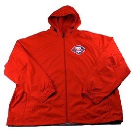mlb - Philadelphia Phillies Windbreaker Jacket Mens Size 3XL