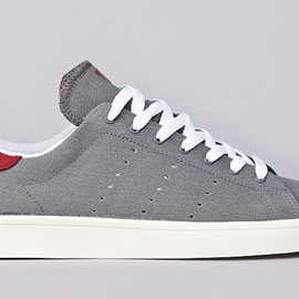 "adidas - Skateboarding Stan Smith Vulc ""Grey & Burgundy"""