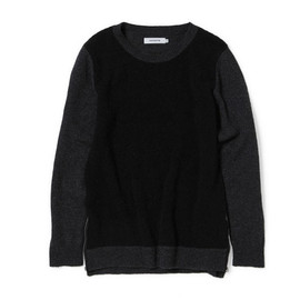 nonnative - OFFICER SWEATER - W/P MIX WOVEN