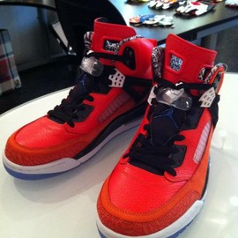 "NIKE - AIR JORDAN SPIZ'IKE ""NEW YORK Knicks"""