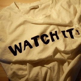 commono reproducts - WATCH  IT! TEE
