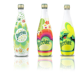 Perrier - THE COLLECTION BOTTLE  * Sophia Wood *