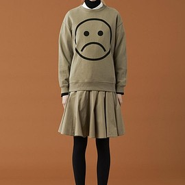 Marc by Marc Jacobs - Magnified Sad Face Sweatshirt
