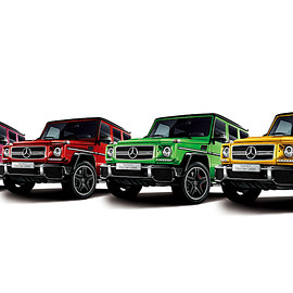 Mercedes-Benz - Mercedes-AMG G 63 CrazyColor Limited