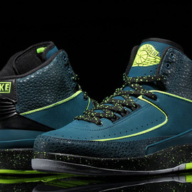 Nike - NIKE AIR JORDAN 2 RETRO NIGHT SHADE/VOLT ICE-BLACK-PURE PLATINUMが発売