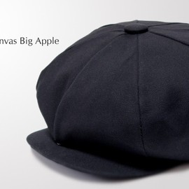 NEW YORK HAT - #6226 CANVAS BIG APPLE, Black