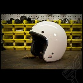 "BELL - Bell ""Gloss White"" Custom 500 Helmet"