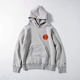 tacoma fuji records - SOET PATCH HOODIE designed by Jerry UKAI