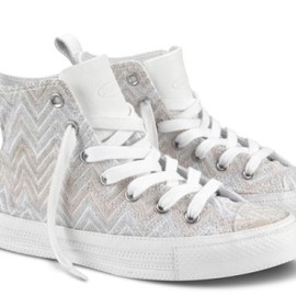 CONVERSE -  ALL STAR MISSONI HI (White)