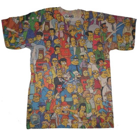 Simpsons Towns People T-Shirt