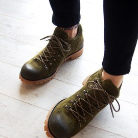 PADRONE MUSEUM - TREKKING SHOES (SUEDE) PADRONE MUSEUM EXCLUSIVE(ブーツ)|詳細画像