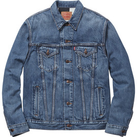 Supreme - Levi's®/Supreme Trucker Jacket - Washed Blue