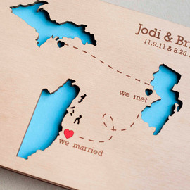 TotallySalinda - Custom Wedding guest book wood rustic wedding