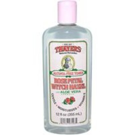 Thayers - Rose Petal Witch Hazel, with Aloe Vera Formula, Alcohol-Free Toner