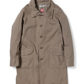 nonnative - DOCTOR COAT - COTTON ARMY CLOTH WITH WINDSTOPPER® 2L