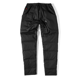 GRIPSWANY - [GSP-50] FIREPROOF DOWN PANTS / BLACK