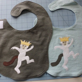 AiTenshi - Max Where the Wild Things Are Baby / Toddler Bib