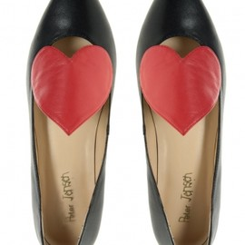 Peter Jensen - Block Heart Ballet Pump