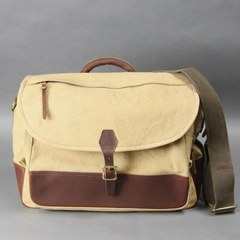 ARTS&CRAFTS - AGING CANVAS / FLAP SHOULDER yellow