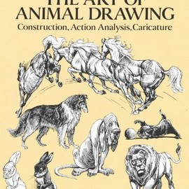 Ken Hultgren - The Art of Animal Drawing: Construction, Action Analysis, Caricature (Dover Art Instruction)