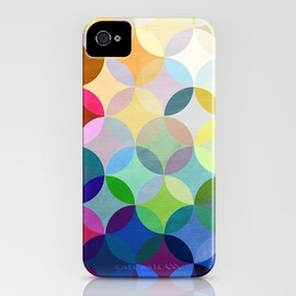 society6, Steven Womack - Circular Motion iPhone Case