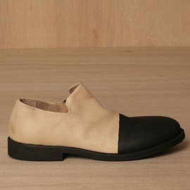 マルセル(marsell)マルセル 2013/SS ■ marsell ■COLETELLACIO TWO-TONE SLIPPER Bianco & Pioggia  1