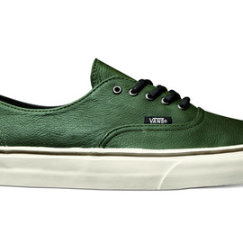 VANS - Vans California Fall 2012 Authentic Decon