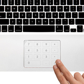 Yanko Design - Number Pad Film for Touchpad
