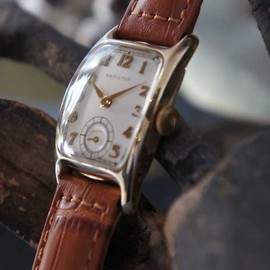 "Hamilton - Hamilton ( U.S.A. ) ANTIQUE WATCH "" TYPE B """