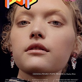 "POP Magazine, Gemma Ward - POP Magazine Spring 2015(Issue32) ""Gemma IS BACK"""