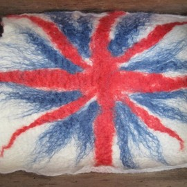 Luulla - Felted Union Jack