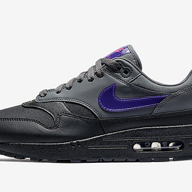 NIKE - Air Max 1 - Dark Grey/Fierce Purple/Black/Pink Blast