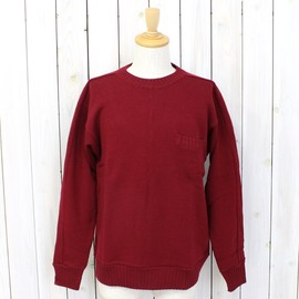 nanamica - THERMOLITE® Wool Crew Neck Sweater - Wine