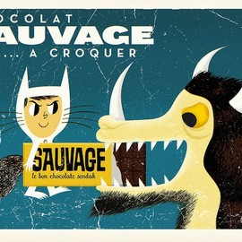 John Coulter - CHOCOLAT SAUVAGE POSTER