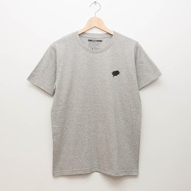 cup and cone - Basic Tee - Grey