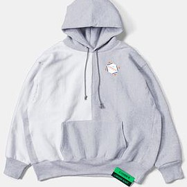 CAMBER - Reverse Bicolor Big Sweat Parka / Gray