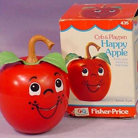 Fisher Price - 1972 fisher price  happy apple