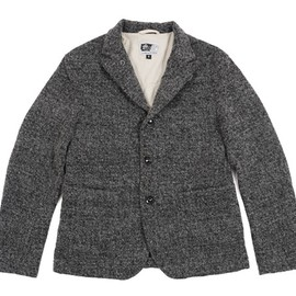 Engineered Garments - Lined Bedford Jacket-Grey Jersey