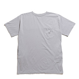 THE NORTH FACE PURPLE LABEL - 7oz H/S Pocket Long Tee-Gray